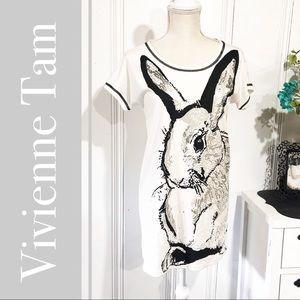 Vivienne Tam Rare Year of the Rabbit Zodiac Tee